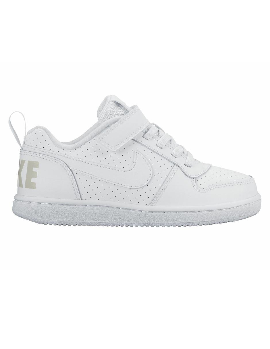 dae33c0b67807 Tenis Nike Court Borough Low para niño Precio Lista