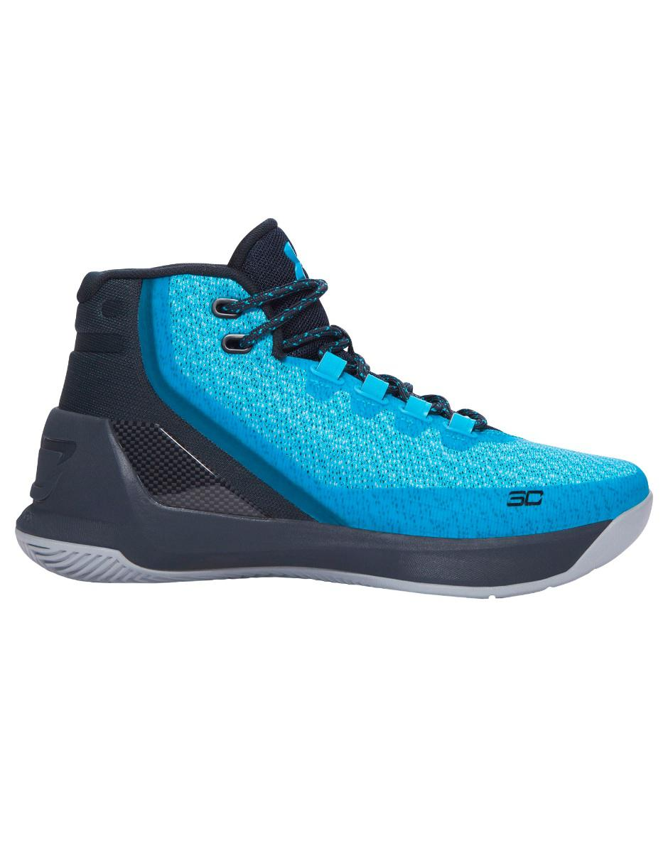 4fcc55f49cc1e Tenis Under Armour Curry 3 básquetbol para niño