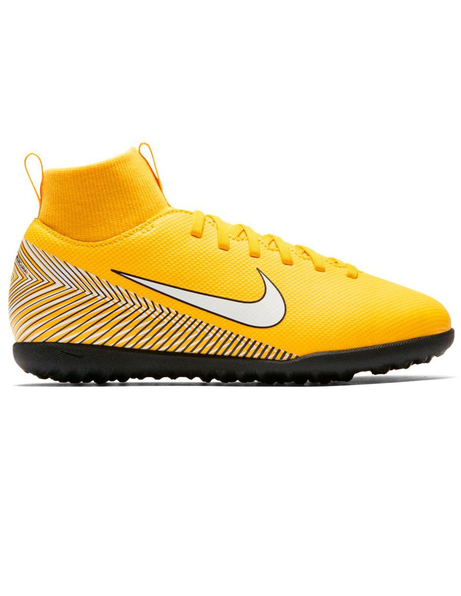 san francisco 84f97 343f3 Tenis Nike Mercurial Superfly 6 Neymar Jr TF fútbol para niño