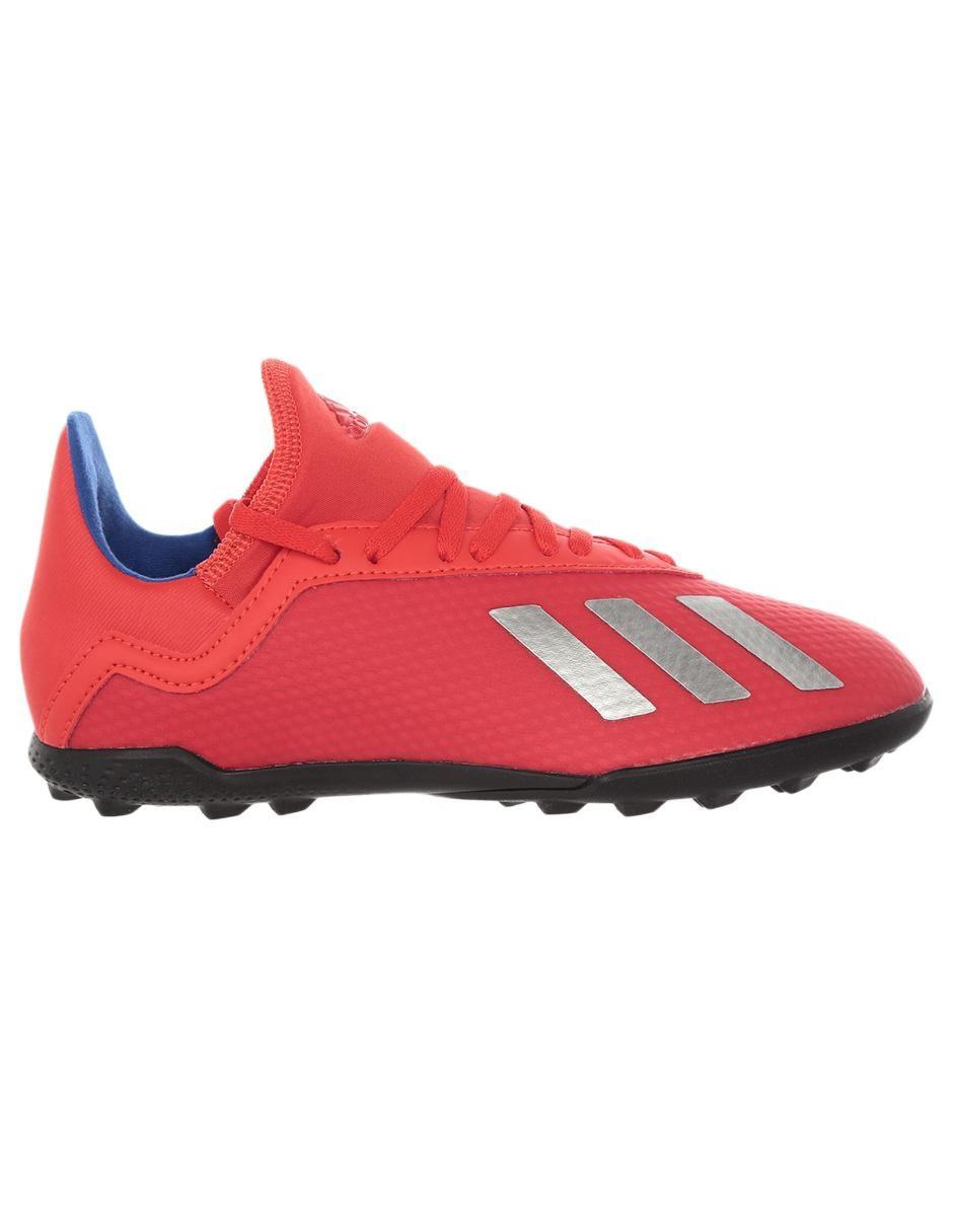 Tenis Adidas X 18.3 TF fútbol para niño Precio Lista 1476d1f8188c4