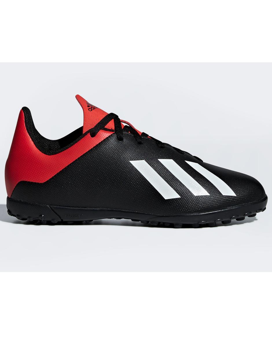 Tenis Adidas X 18.4 TF fútbol para niño  b3f0c7f695da2