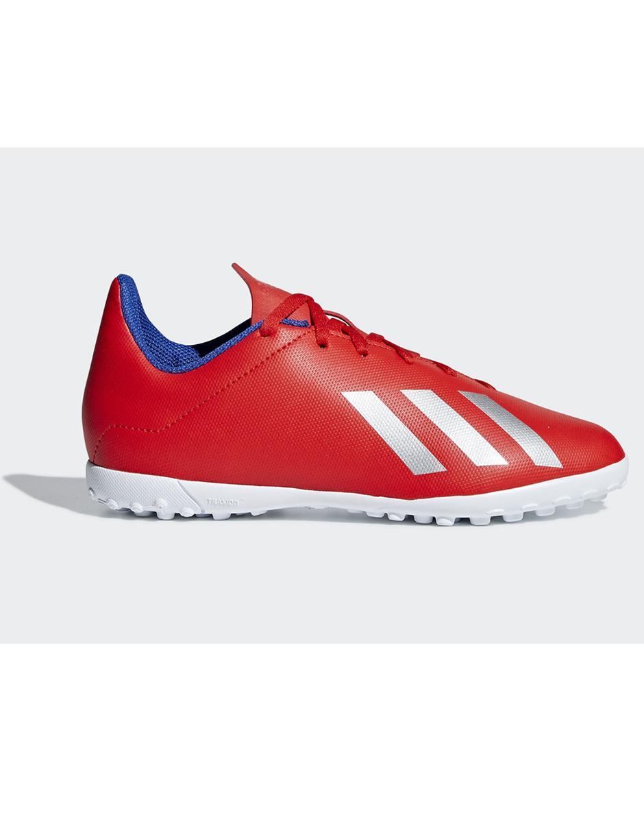 Tenis Adidas X 18.4 TF fútbol para niño Precio Lista 0d0f4553d3987