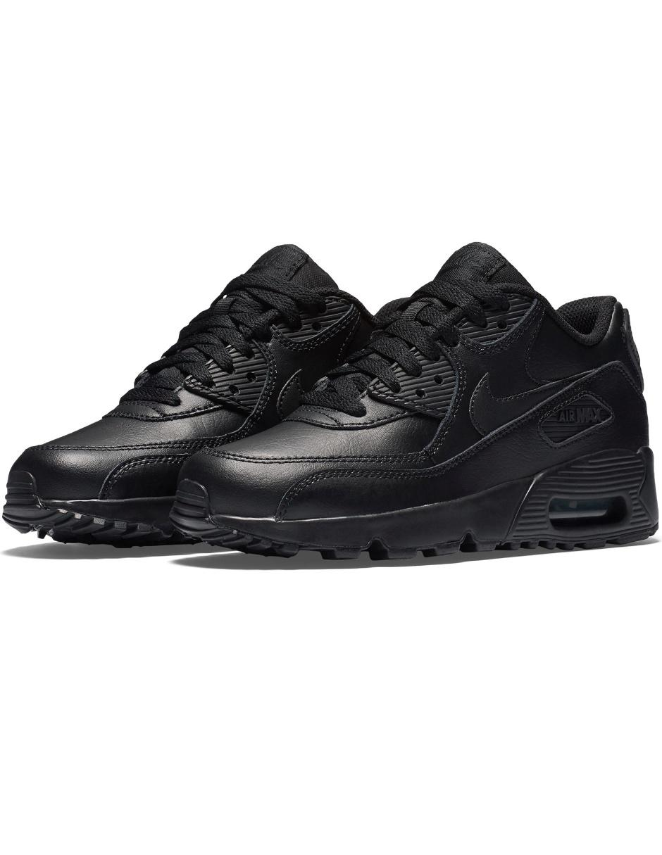 nike air max 90 leather negro
