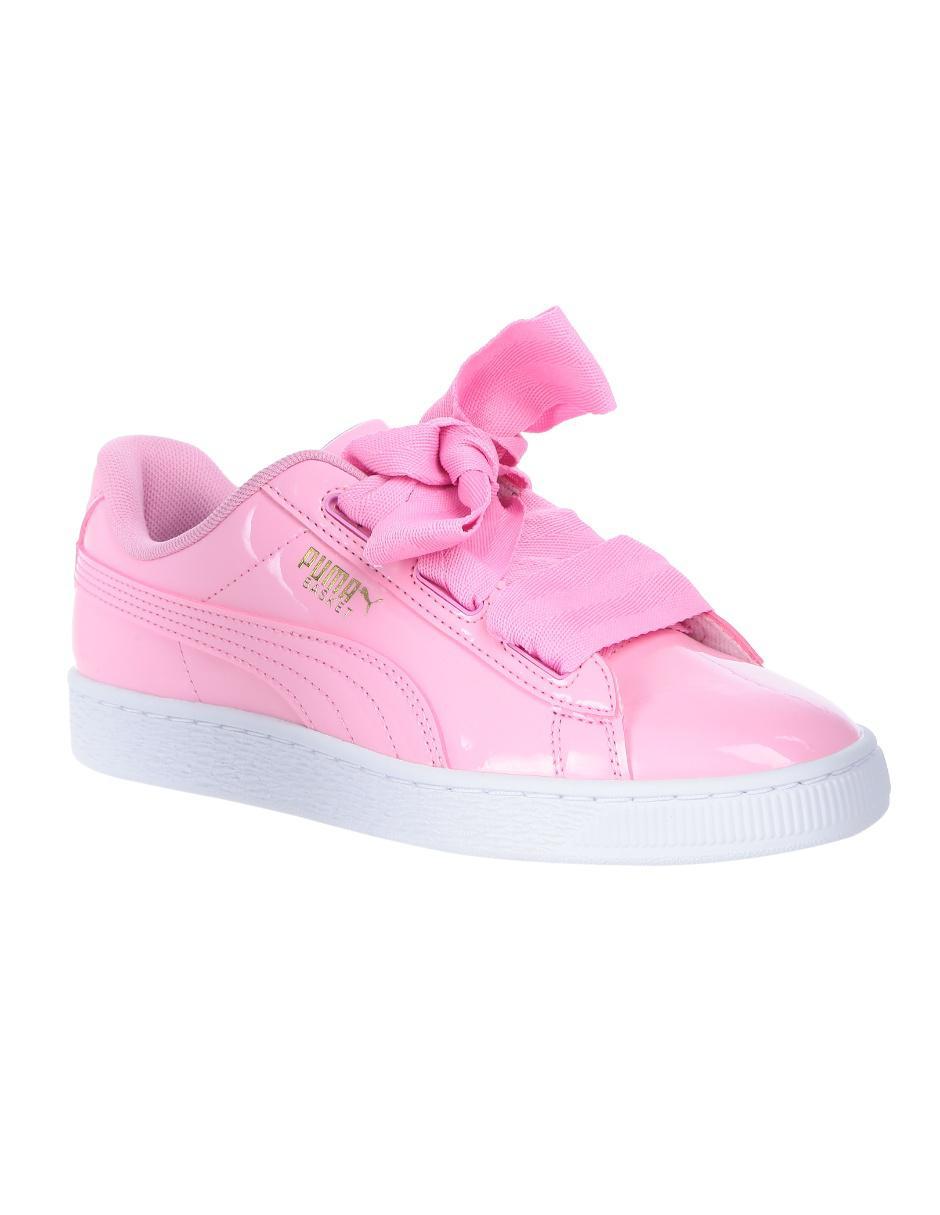 puma niña rosa