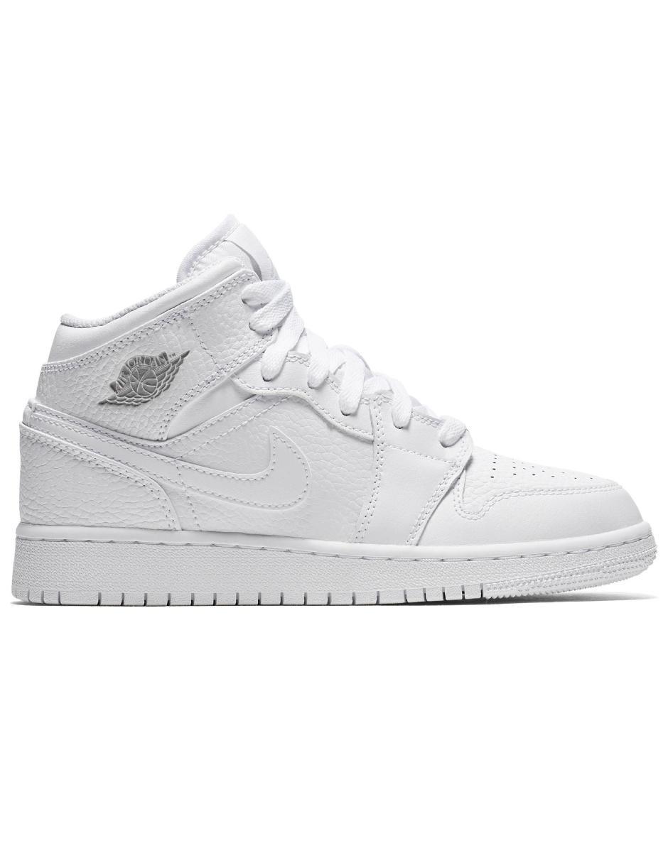 promo code 0e848 e681c Tenis Nike Air Jordan 1 Mid básquetbol para niño