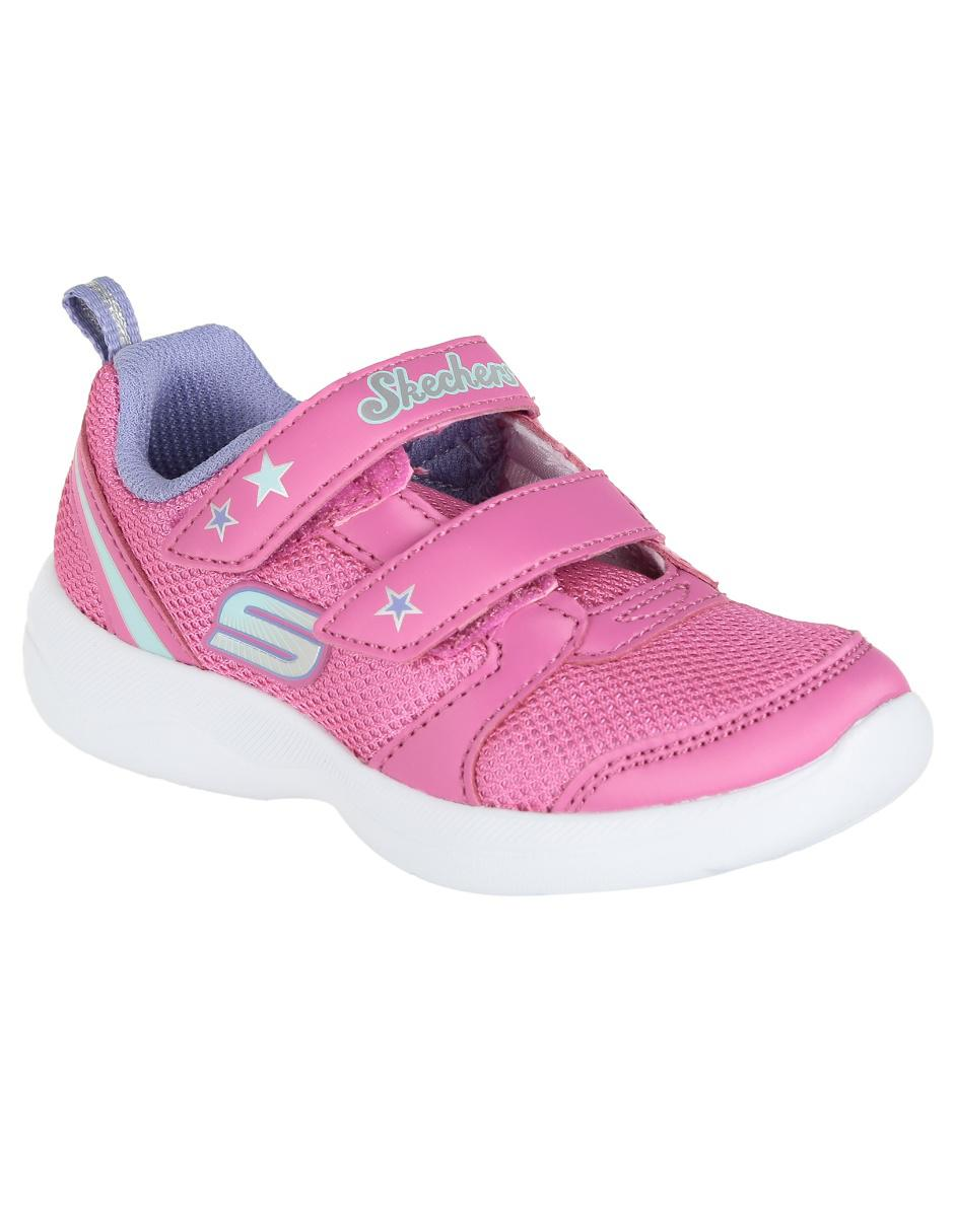 Zapatos Baratos Para Chicas Zapatos Skechers de Niñas Rosa
