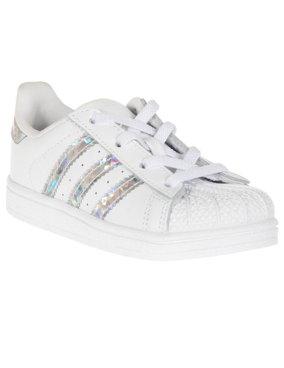 comprar bien zapatillas de deporte para baratas despeje Tenis Adidas Originals Superstar para niña en Liverpool